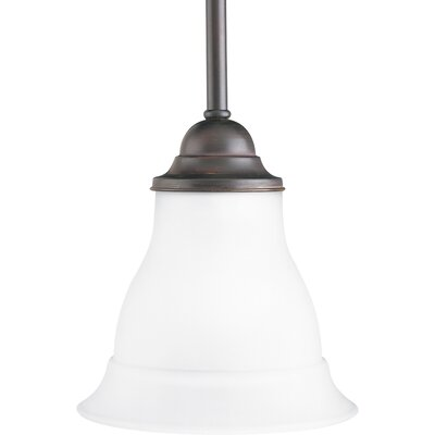 Trinity 1 Light Stem-Hang Mini Pendant