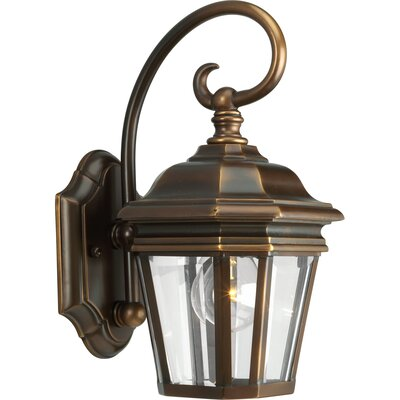 Progress Lighting Crawford Incandescent 1 Light Outdoor Wall Lantern
