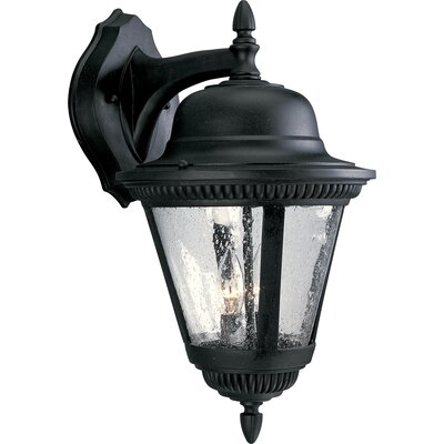 Progress Lighting Westport Outdoor Wall Lantern in Black
