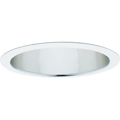 "Progress Lighting 6"" Open Recessed Trim in Clear Alzak"