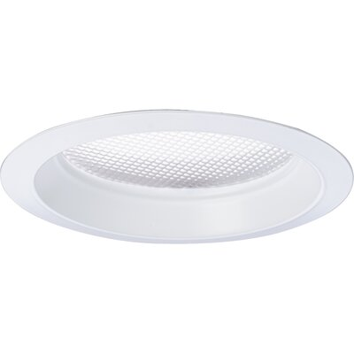 Progress Lighting Prismatic Acrylic Lens Recessed Trim in White