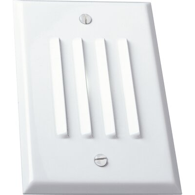 Progress Lighting Everlume Mini Horizontal Step or Wall Louvered Light in White