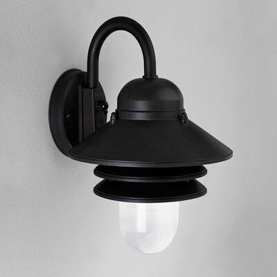 Progress Lighting Newport I 1 Light Plastic Outdoor Wall Lantern with Shade