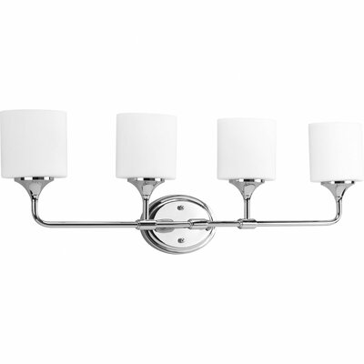 Progress Lighting Lynzie 4 Light Bath Vanity Light