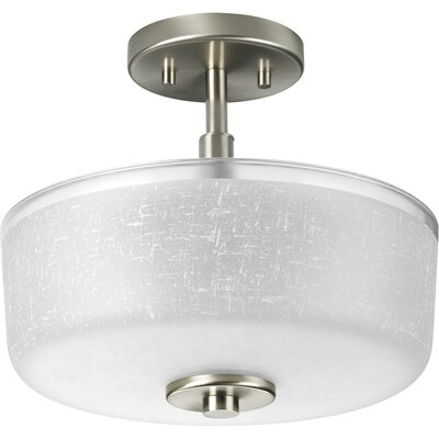 Alexa 2 Light Semi Flush Mount