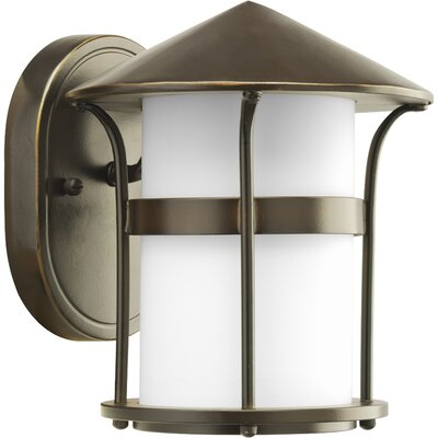 Progress Lighting X3848 Series 1 Light Welcome Outdoor Wall Lantern