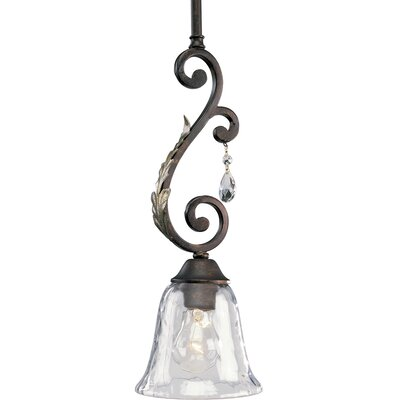 Progress Lighting Thomasville Savona 1 Light Stem-Hang Mini Pendant