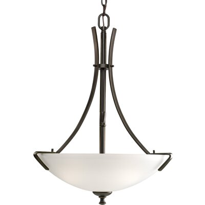 Progress Lighting Westin 3 Light Inverted Pendant