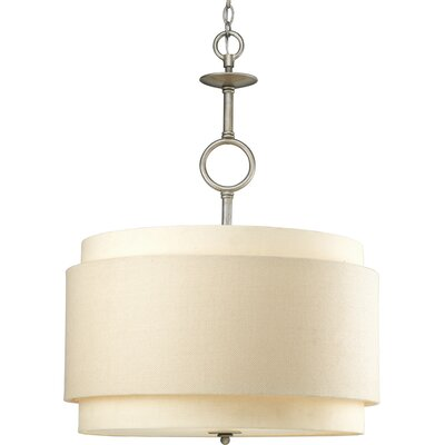 Progress Lighting Ashbury 3 Light Drum Pendant