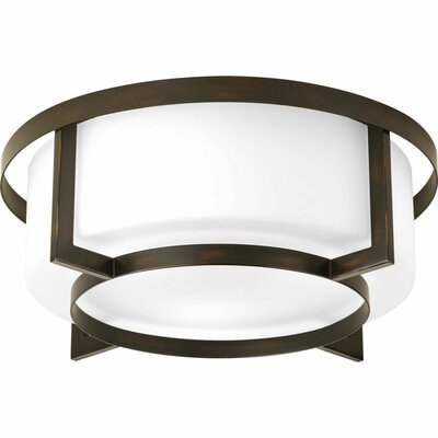Progress Lighting Dynamo 4 Light Flush Mount