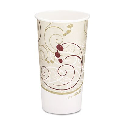 Solo Cups Company Symphony Design Hot Cups, 20 Oz.