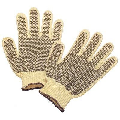 Sperian Welding Protection Tuff-Knit Extra™ Gloves - mens/Para-aramid synthetic fiber 100% dottedreversible