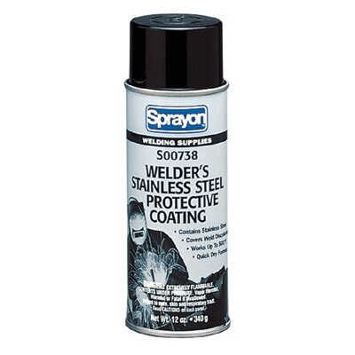 Sprayon Welder's Stainless Steel Protective Coatings - 16-oz. stainless steel paint