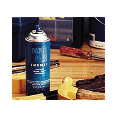 Sprayon Paint-All™ Fast-Dry Enamel Paints - 16-oz. flat black paintall enamel