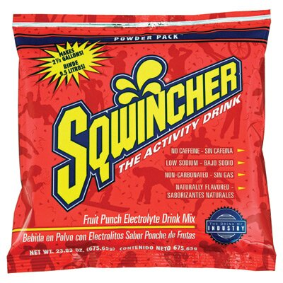 Sqwincher Punch 23.83 Ounce Powder Pack™ Yields 2.5 Gallons