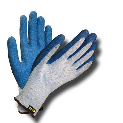 Stanley Tools Polyester/Cotton Gloves with Latex Coating