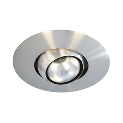 Thomas Lighting Eyeball Recessed Trim in Brushed Nickel