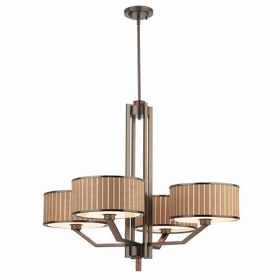 Haberdasher 4 Light Chandelier