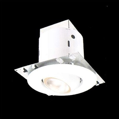 Thomas Lighting White baffle trim 50W R20 lamp with Housing
