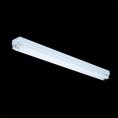 2 Light Linear Strip Flush Mount
