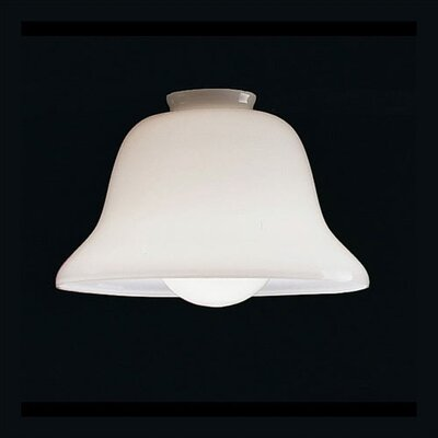 White Cased Glass Shade