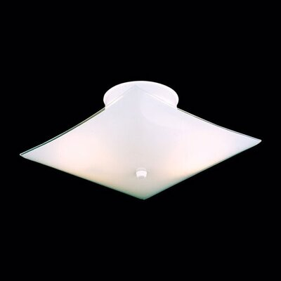 Thomas Lighting Square Semi Flush Mount