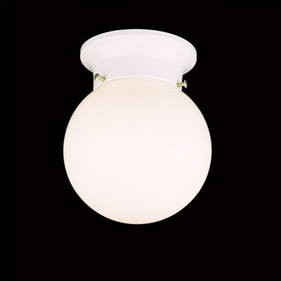 Thomas Lighting 1 Light Globe Flush Mount