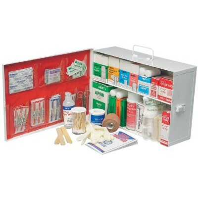 Swift First Aid Small Industrial 140 First Aid Cabinets - 2 shelf industrial firstaid kit