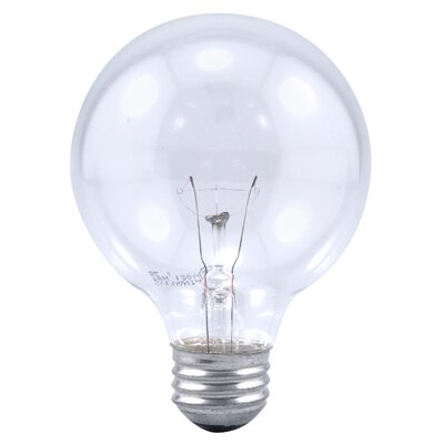 Sylvania Decor G25 40 Watt 120 V Incandescent Bulb in Clear