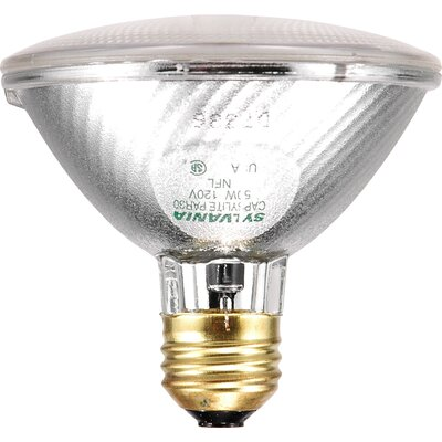 Sylvania Capsylite PAR30 50 Watt 120 V Narrow Flood Beam Tungsten Halogen Reflector Bulb