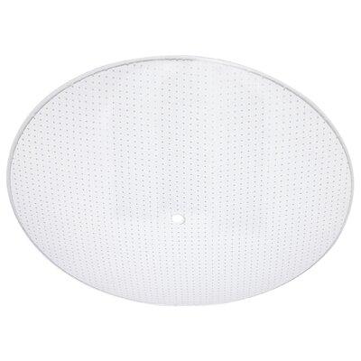13 Quot Glass Round Light Diffuser Wayfair