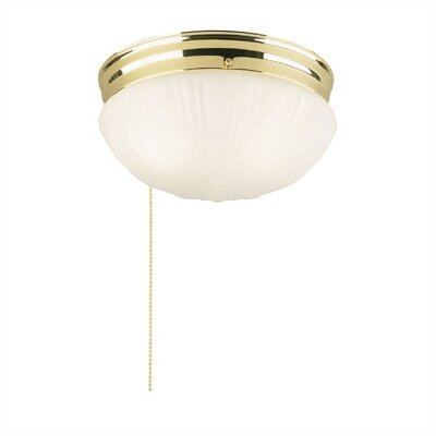 westinghouse lighting flush mount with pull chain in brushed nickel. Black Bedroom Furniture Sets. Home Design Ideas