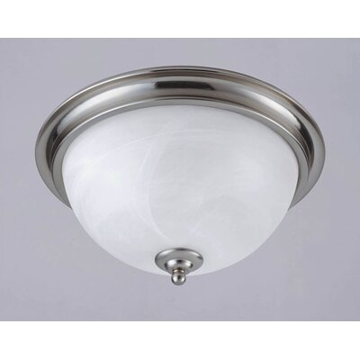 Westinghouse Lighting Brandt Point 2 Light Flush Mount