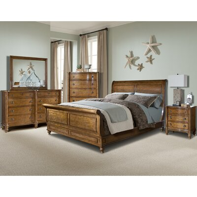 Cape Cod Hanover Sleigh Bedroom Collection Wayfair Supply