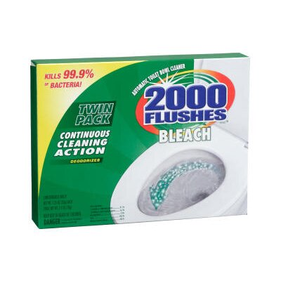 WD-40 2000 Flushes Blue Plus Bleach