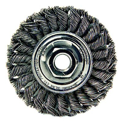 Weiler Dualife® Standard Twist Knot Wire Wheels - sta-4 .020 5/8-114in dia sta