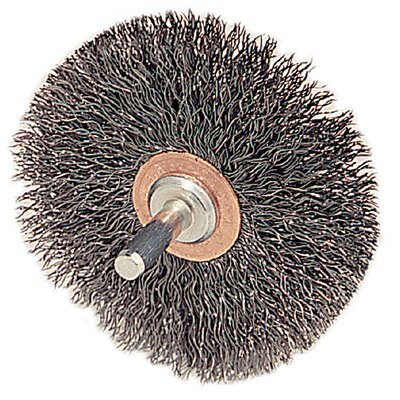Weiler Stem-Mounted Conflex Brushes - cfx-2 .01182in dia ste