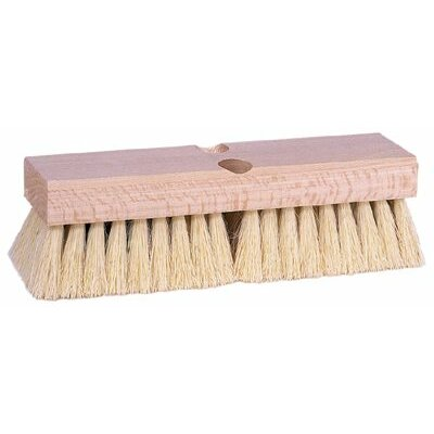 "Weiler Deck Scrub Brushes - 10"" Deck Scrub Brush Palmyra Fill"