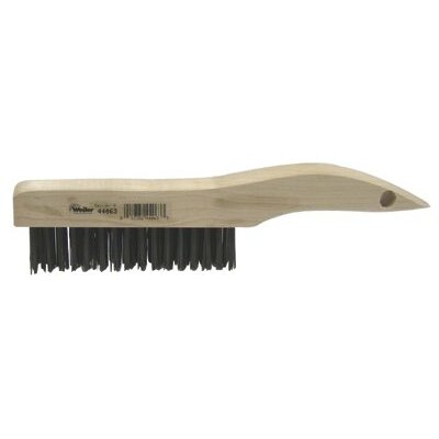 Weiler Shoe Handle Scratch Brushes - sh-46 shoe handle scratch brush .012 4x16 r