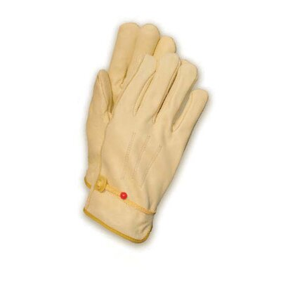 Wells Lamont Medium Tan Premium Quality Cowhide Unlined Gunn Cut Drivers Gloves With Straight Thumb And Bound Hem