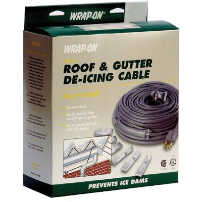 Wrap-On 80' Wrap On Roof and Gutter De-Icing Cables