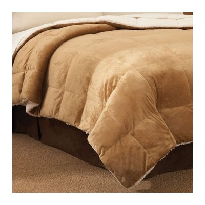 PEM America Mink Reversing to Cloud Fleece Comforter