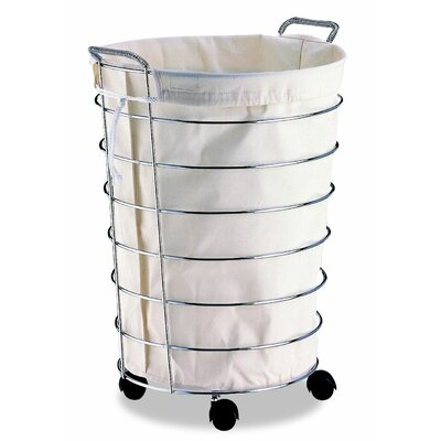 OIA Jumbo Laundry Basket with Canvas Bag