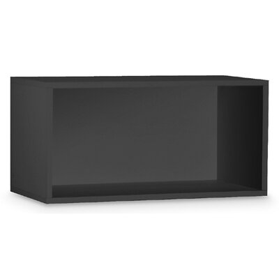 "OIA Cube 30"" Open Storage Cube in Black"