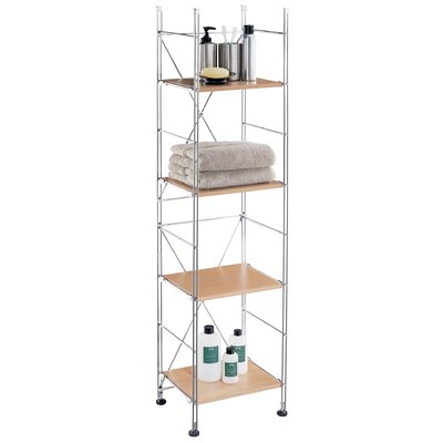 OIA Four Shelf Towel Tower in