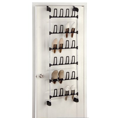 Overdoor 12 Pair Shoe Rack