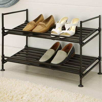 OIA 2 Tier Shoe Rack