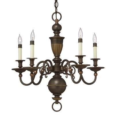 Hinkley Lighting Cambridge 5 Light Chandelier