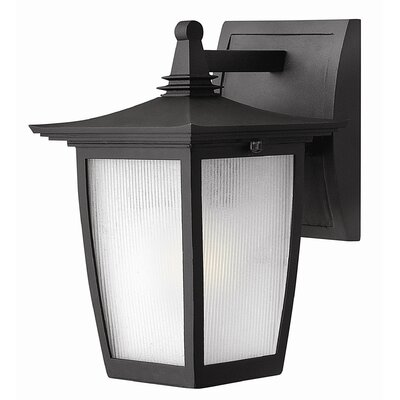 Hinkley Lighting Pearl Outdoor Wall Lantern in Black with Energy Saving Option