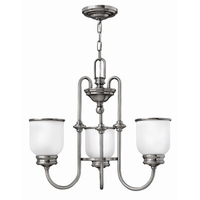 Hinkley Lighting Easton 3 Light Chandelier